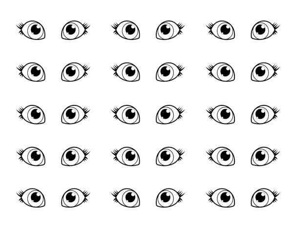 Ausmalbilder 2016 Coloring Eyes