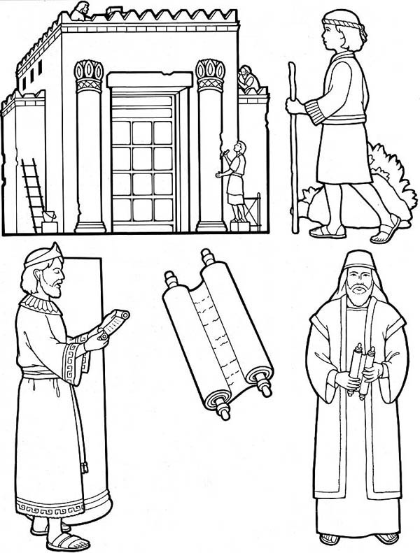 Free Daniel Dream Coloring Pages
